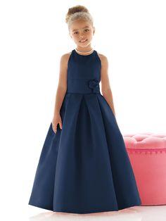 Midnight Color Flower Girl Dress
