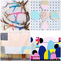#luxlist  from L-R Amazing paint dipped antlers!! From @_pinkdeer wall hangers from @pegi_designs Rug from @olliella & print from @yinandyarn #lustlist #wishlist #supportlocal #shoplocal #handmade #homewares #homedecor #decor #decorating #homeinspo #homeideas #interiorinspo #interiordesign #interiorstyling #colourfulhomes #interiors #interiorsnut #homestyling