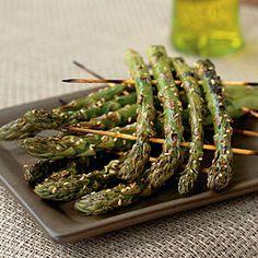 Vegetable Recipes for Kids | Grilled Asparagus Rafts | CookingLight.com