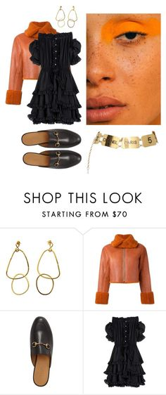 """""""Persimmon"""" by astrro on Polyvore featuring adidas Originals, Gucci, Faith Connexion and Chanel"""