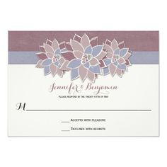Now it's your turn to pop the big question! Ask your girls to be with you on your special day with Trendy bridal party proposal cards from Zazzle! Succulent Wedding Invitations, Special Day, Rsvp, Succulents, Bridal, Party, Modern, Trendy Tree, Succulent Plants