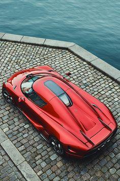 La Velocita' — artoftheautomobile: Koenigsegg Regera ...