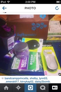 My #GoVoxbox courtesy of influenster. Be inspired to get out and GO. The Vitamin Shoppe has some great shakes and the bath salts are amazing and so relaxing just like a real spa!
