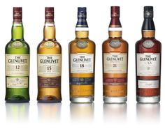 The Glenlivet Whisky range