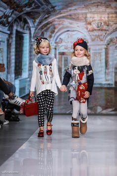 Monnalisa Fall/Winter 2016 Fashion Show LaRinascente Milan Wednesday 12 October 2016 #Monnalisa #EnjoyTheFrontRow #LaRinascentePeople