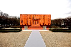 Christian Dior Couture SS14  Monday January 20th 2014  Musée Rodin  By Bureau Betak