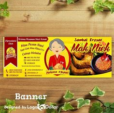Kemasan Produk Makanan, Kemasan Produk Unik, Kemasan Produk Kosmetik, Kemasan Produk Makanan Ringan, Kemasan Produk Assesories Jasa Pembuat Logo adalah sebuah perusahaan yang berbasis pada desain kreatif. Ini didirikan sejak Februari 2015 BBM: 5D3BC6A5 WA : 0813 3119 3400 LINE : logo5dollar FACEBOOK : Logo 5 Dollar Email: logo5dollar@gmail... Website :www.Logo5Dollar.com Food Menu Design, Food Poster Design, Label Design, Logo Design, Logo Online, Stickers Design, Background Banner, Menu Restaurant, Custom Labels