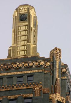 The Carbide and Carbon Building is decorated with gold leaf and is now home to the Hard Rock Hotel.