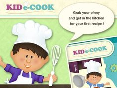KidECook - Recipe and dessert for children [iPad, iPhone]. All new interesting apps for kids updated daily: http://www.appysmarts.com/publisher/news.php?age=0=0=0,4=0