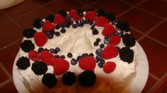 Coconut Infused Berry Cake Berry Cake, Berries, Sweet Treats, Coconut, My Favorite Things, Desserts, Food, Tailgate Desserts, Sweets