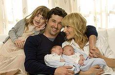 Patrick Dempsey en famille