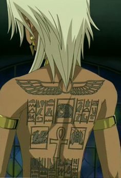 1000 images about yu gi oh heart of the cards on for Marik ishtar tattoo