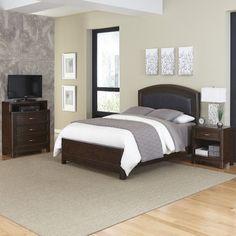 Crescent Hill Panel 3 Piece Bedroom Set Size: King - http://delanico.com/bedroom-sets/crescent-hill-panel-3-piece-bedroom-set-size-king-589762532/