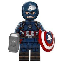 Lego Minifigure Display, Lego Custom Minifigures, Lego Minecraft, Lego Disney, Capitan America Lego, Legos, Lego Furniture, Lego Pictures, Amazing Lego Creations