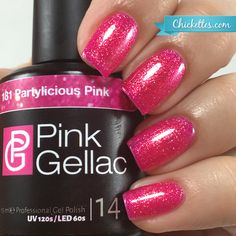 natural gel nails with glitter - Pink Gellac Gel Nail Polish at Chickettes – Chickettes Natural Nail Studio & Boutique - Peach Nail Polish, Glitter Gel Polish, Pink Gel Nails, Gel Nail Polish Colors, Peach Nails, Glam Nails, Nail Colors, Nail Polishes, Pink Glitter