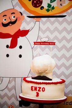 Pizza Themed Birthday Party with REALLY CUTE IDEAS via Kara's Party Ideas