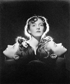 Norman Parkinson, 1935 - Debutantes Helen Trefusis (later Mrs. Arthur Koestler) and the Paget Twins (Celia and Mamaine)