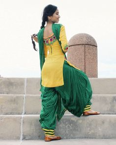 Image may contain: 1 person, standing, child and outdoor Patiala Suit Designs, Salwar Designs, Kurta Designs Women, Saree Blouse Designs, Dress Designs, Patiala Dress, Punjabi Dress, Patiala Salwar, Salwar Suits