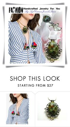 """Fashion Handcrafted Jewelry"" by sylvia-cameojewels ❤ liked on Polyvore featuring Katerina Makriyianni"