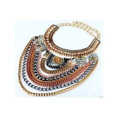 Purchase European Big Brand Necklace Foreign Trade Original Order Ornament Multi-layer Exaggerated Zircon Necklace Ornament golden necklace from QingdaoMegasaveInternationalCO on OpenSky. Share and compare all Jewelry. Transparent Nails, Golden Necklace, Shape Design, Most Beautiful Women, Jewelery, Layers, Ornament, Silver, Heart