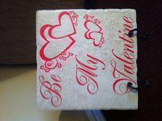 Valentine's Vinyl Tile