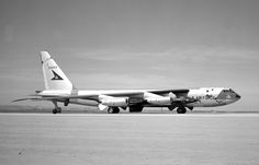 Boeing with a North American Aviation under its right wing, at Edwards Air Force Base, 31 December (NASA) Edwards Air Force Base, B 52 Stratofortress, Right Wing, Aircraft, Airports, American, Airplanes, Nasa, Vehicles