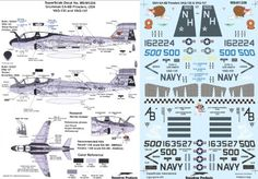 Superscale USA Grumman EA6B Prowlers Decals 2 * Read more  at the image link.