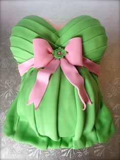 Baby Shower - Pregnant Belly Cake