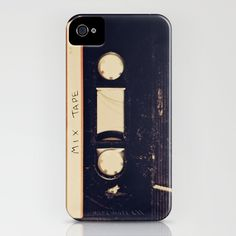 mix tape  by Marianne LoMonaco  IPHONE CASE / IPHONE (4S, 4)  $35.00