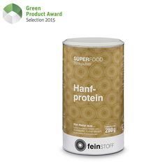 """""""The healthy and sustainable protein alternative! The rise in the worldwide population demands to rethink our daily food. Hempprotein powder offers a sustainable way of protein sustenance. It contains twice as much protein as beef and is very easy to digest. With all 23 amino acids included, it is the perfect protein for humans. Hemp is very resistant and doesn't need any pesticides to grow."""""""