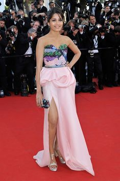 Freida Pinto in Michael Angel, 2012 - The Most Stunning Cannes Film Festival Gowns of All Time  - Photos