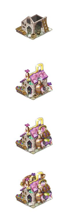 Soap factory levels for Oasis game on Behance