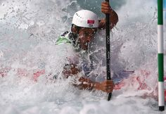 Daniele Molmenti of Italy won the gold medal in the men's kayak slalom single on Wednesday.