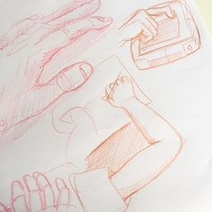 Drawing the drawing #instadraw #doodle #children #hand #pen #draw #dessin #main #anatomie #crayon