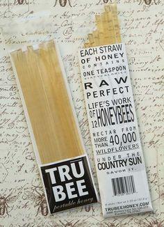 Honey straws