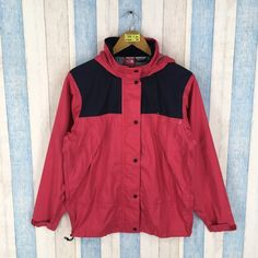 Vintage THE NORTH FACE Jacket Gore Tex Women Medium North Face Windbreaker  Ski Wear North Face Sportswear Multicolour Hoodie Jacket Size M 74cf4075f