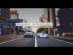 Car Maniacs : Life With Le Mans' - XJ220LM 962C 767B モーターヘッド Motorhead.jp 4k - YouTube