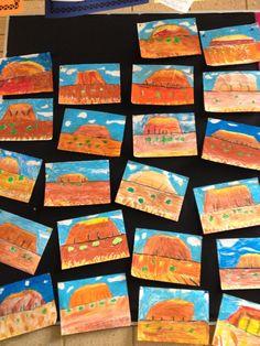Uluru Ayers Rock Classroom - Could use mosaic for Uluru and Earth. Australia For Kids, Australia Crafts, Australia Pictures, Australia House, Australia Travel, Aboriginal Art For Kids, Aboriginal Education, Australian Art For Kids, Australian Animals