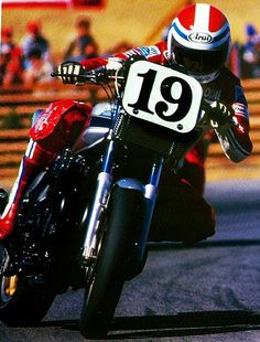 itsbrucemclaren:    Flat Tracker Freddie Spencer - The Early Days AMA Motorcycle Racing