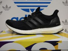 75e7e51dc NEW ADIDAS Ultra Boost Mens Running Shoes - Black White  S77417