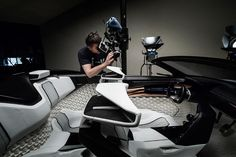 When leading automotive photographer Tim Wallace (@timwallace47) received a top secret brief to photograph the latest Peugeot concept car in Paris he decided it was the ideal opportunity to team up with the CMOS powered Hasselblad H5D-50c. / See link in profile for full story // #hasselblad #createtoinspire #mediumformat #h5d50c by hasselblad_official