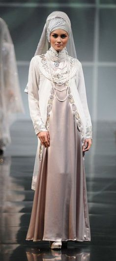 Muslim wedding gown