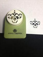 "Anna Griffin Decorative Paper Punch - ""Iris Swirl"" All Night Media"