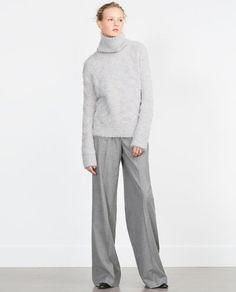 изображение 1 из ЖАККАРДОВЫЙ СВИТЕР от Zara