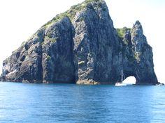 Hole in the Rock - Paihia, New Zealand