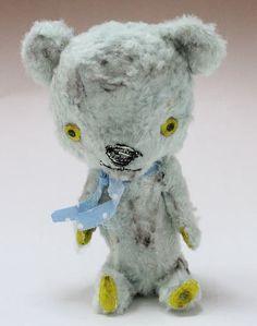 加藤 日砂/Yellow TED | テディベア,アーティストベア | timeroman-shop
