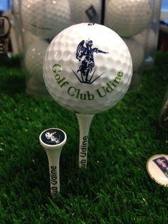 Tees and ball Golf Club Udine, Fagagna - Udine, Italy.