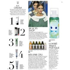 Jalouse Editorial BEAUTY SHOP, June 2013 - MyFDB ❤ liked on Polyvore featuring editorials