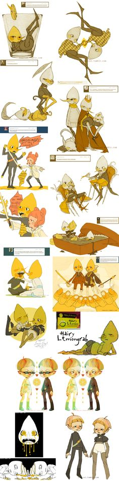ridiculous amounts of lemongrab by ~ostalgie on deviantART