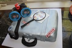 This was a cake for our 5YO's spy themed birthday party.  Amazing!